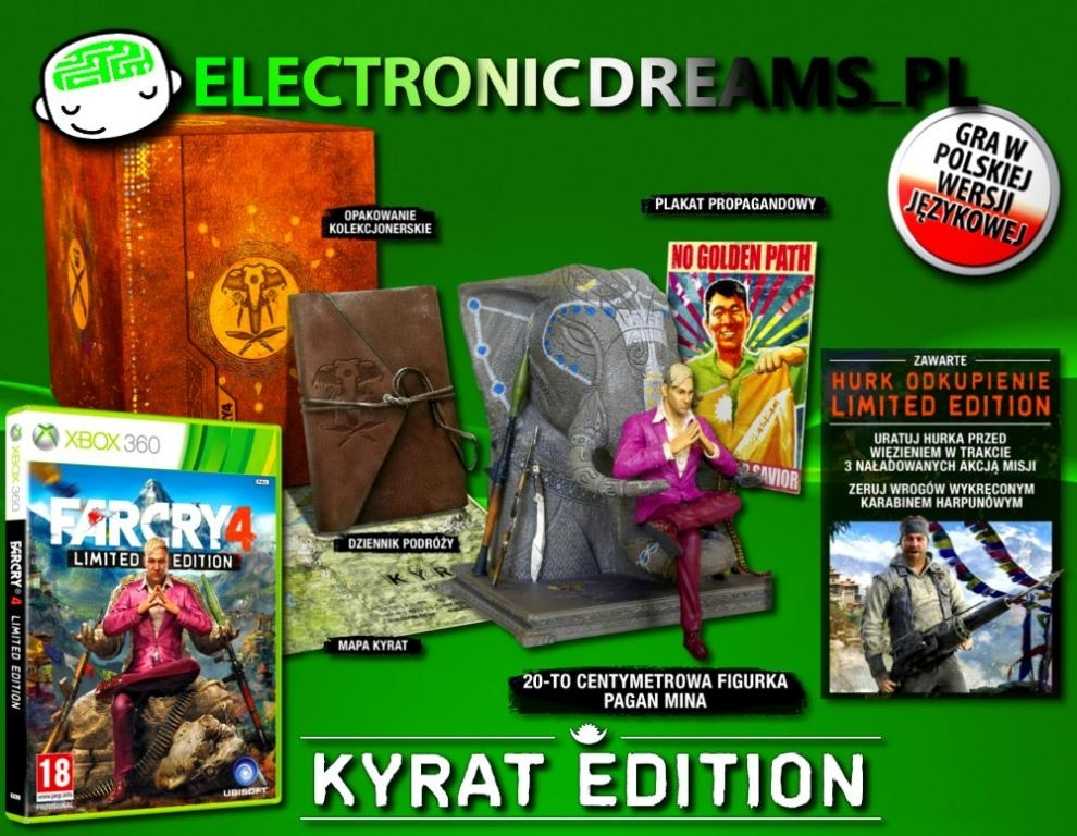 Far Cry 4 Kyrat Edition (Xbox 360)